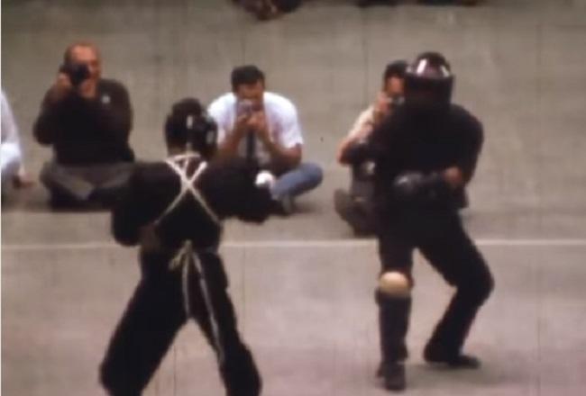 Вглобальной сети появился единственный ролик среальным боем Брюса Ли