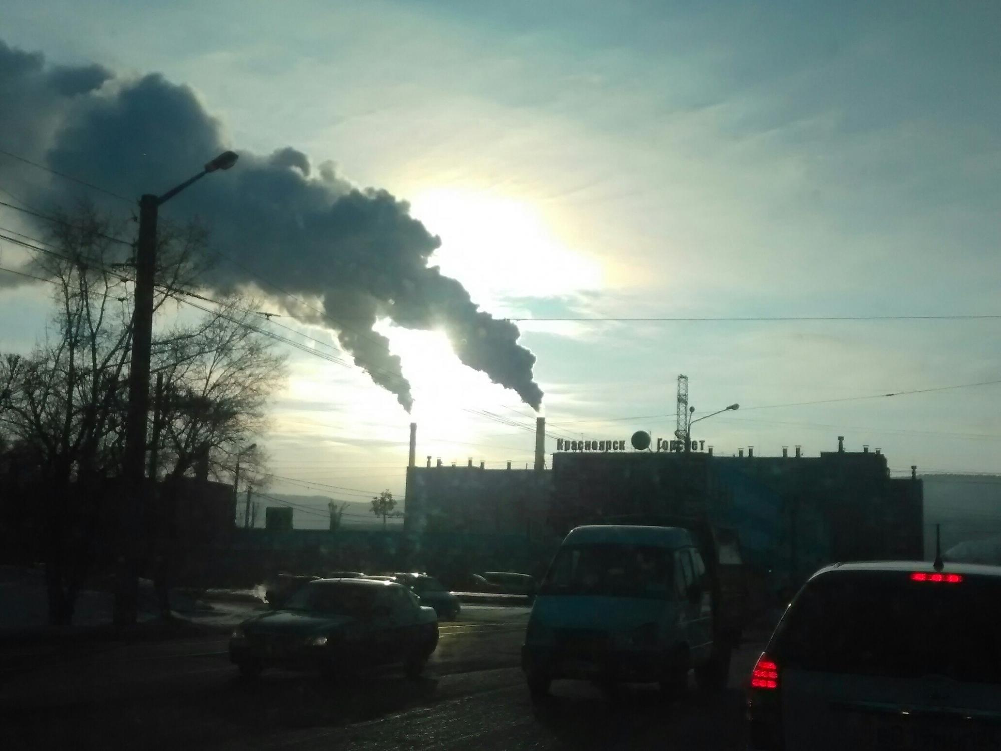 ВКрасноярске выявлено 16 источников загрязнения атмосферного воздуха