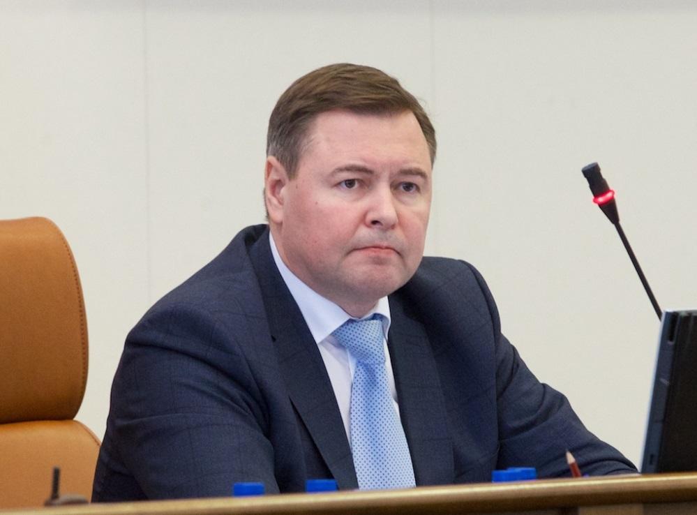 Единороссы выдвинули надолжность спикера Заксобрания края Дмитрия Свиридова