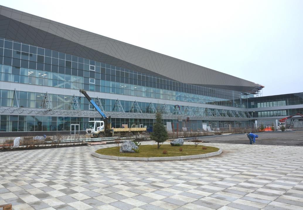 Красноярцам показали дизайн нового терминала аэропорта Емельяново