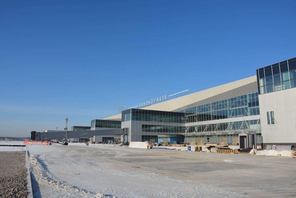 Названа дата открытия нового терминала «Емельяново»