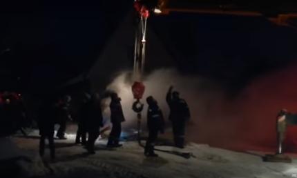 ВНазарово практически 2000 граждан остались без отопления из-за дорожной аварии