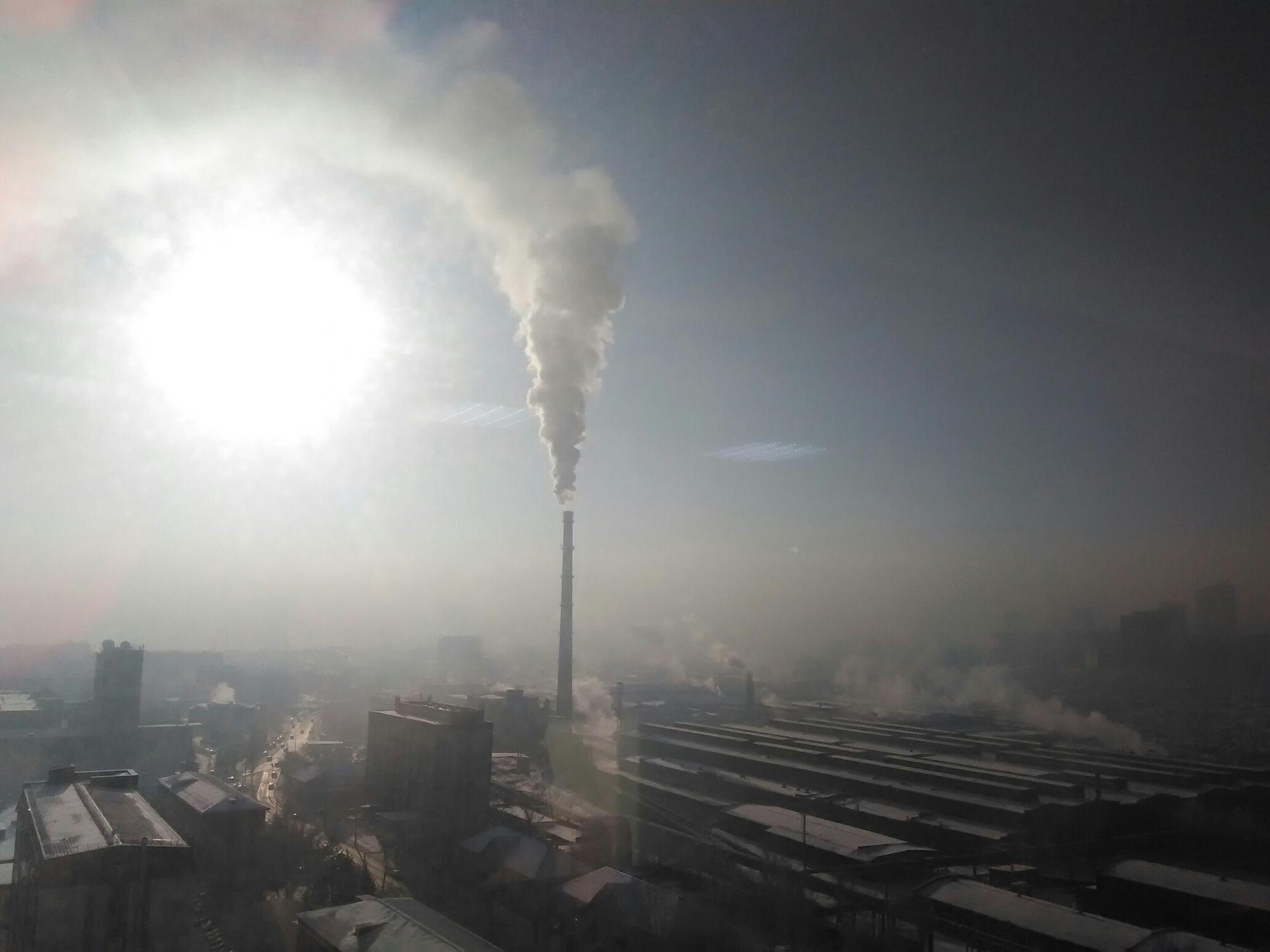 Навыходных Красноярск возглавил 10-ку самых нечистых городов напланете