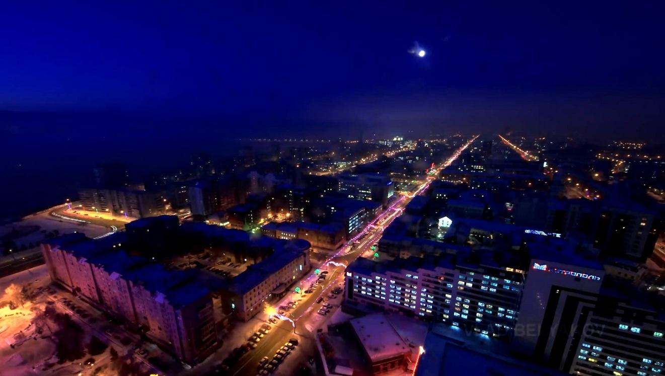 В «Час Земли» вТомске выключат подсветку здания мэрии